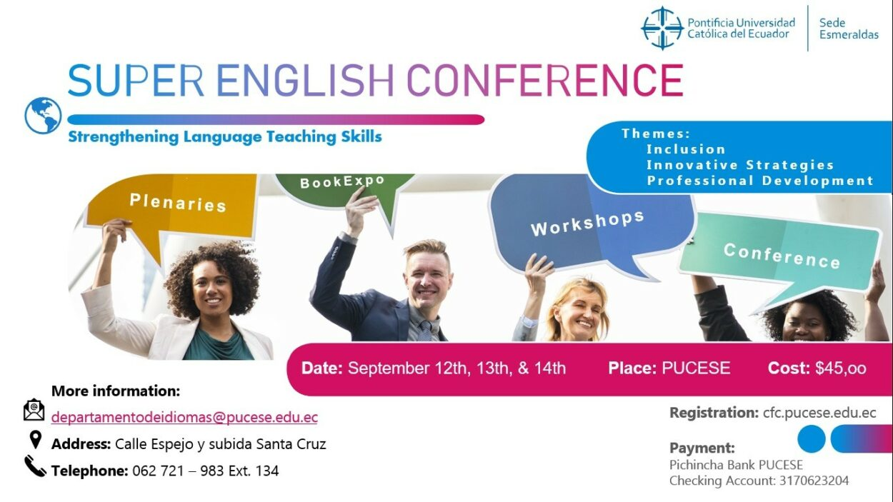 SUPER ENGLISH CONFERENCE PUCESE 2019