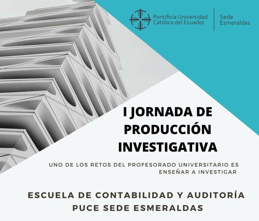 CARRERA DE CONTABILIDAD ORGANIZA JORNADA DE INVESTIGACIÓN