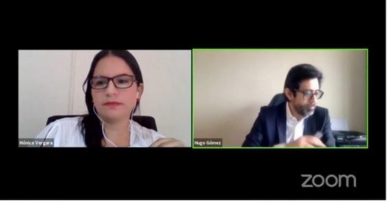 Docente de la Pucese, participó como panelista en el Webinar  sobre frontera y comercio