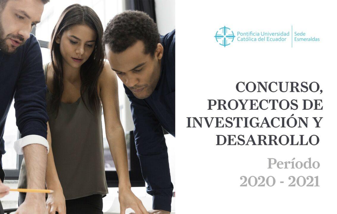CONCURSO DE PROYECTOS DE INVESTIGACIÓN 2020-2021