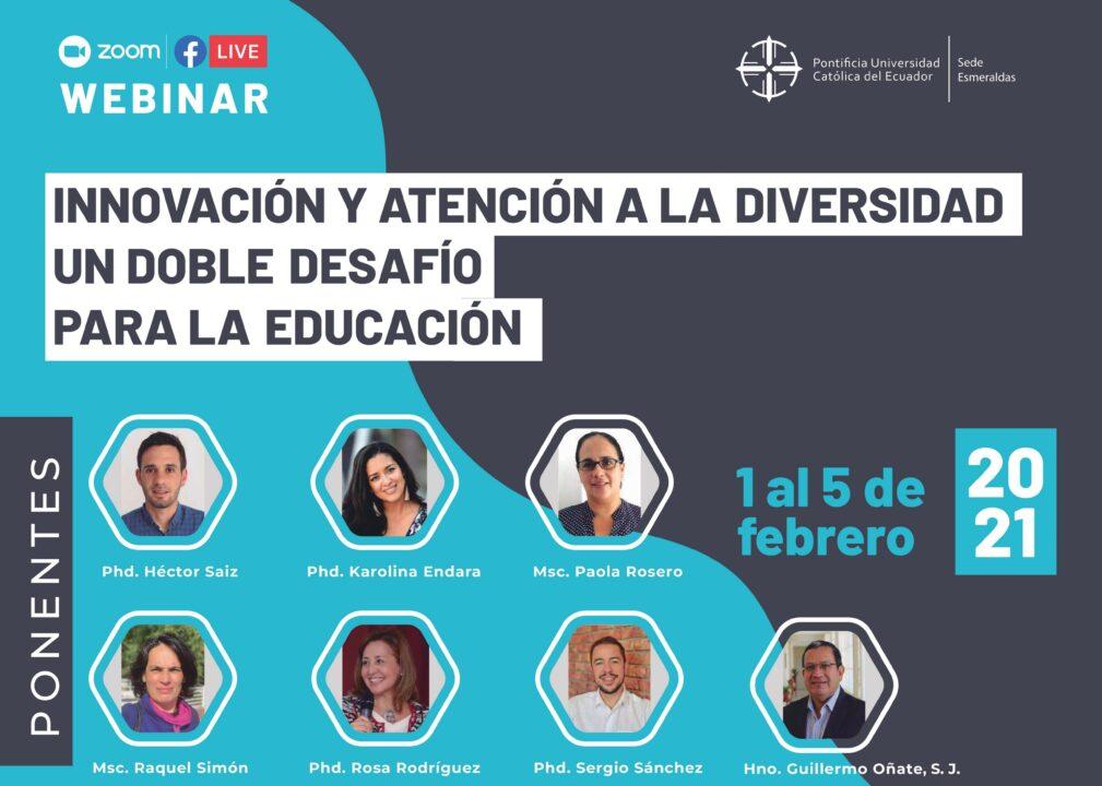 Maestrías de Educación preparan Webinar internacional.