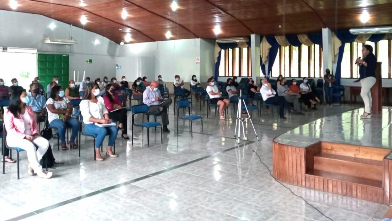 SOCIALIZACIÓN DEL PLAN ESTRATÉGICO  DE DESARROLLO INSTITUCIONAL